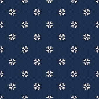 Modèle de tricot de noël et du nouvel an. conception de pull sans couture d'hiver