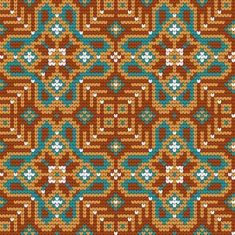 Modèle de tricot pour pull laid