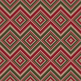 Modèle de tricot sans couture abstraite.