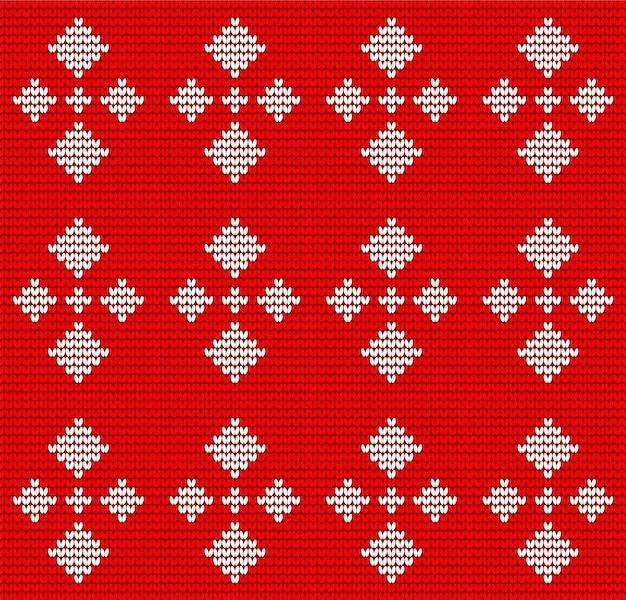 Modèle de tricot sans couture jacquard
