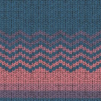 Modèle de tricot, texture de laine de tissu sans couture shevron