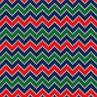 Modèle tricoté sur le thème de noël