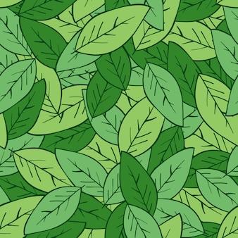 Modèle tropical frais avec des feuilles de palmier