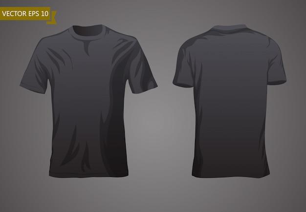 Modèle de tshirt vide