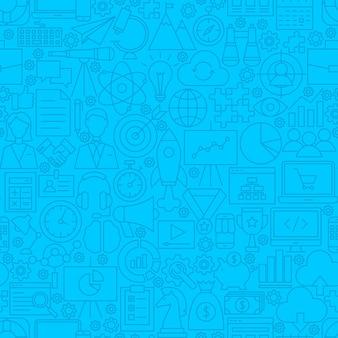 Modèle de tuile de ligne de démarrage. illustration vectorielle de fond de contour.