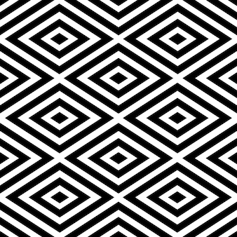 Modèle de vecteur abstrait noir optique style amérindien