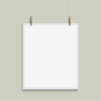 Modèle de vecteur de feuille de papier