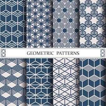 Modèle de vecteur géométrique hexagone