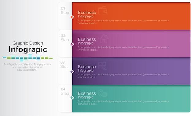 Modèle de vecteur d'infographie moderne illustration de stock graphique d'infographie choix météo