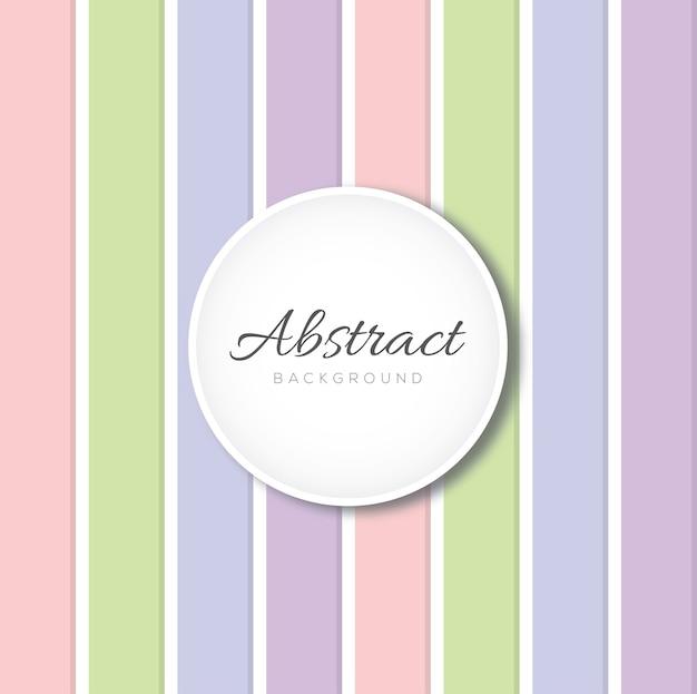 Modèle de vecteur de ligne verticale abstraite pastel