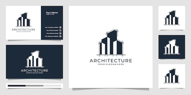Modèle vectoriel d'architecture