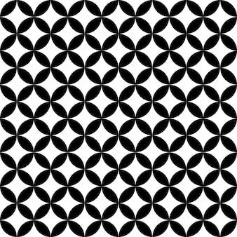 Modèle vectoriel étoile sans soudure cercle géométrique. texture abstraite pour textile.