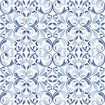 Modèle vectoriel oriental avec des éléments arabesques