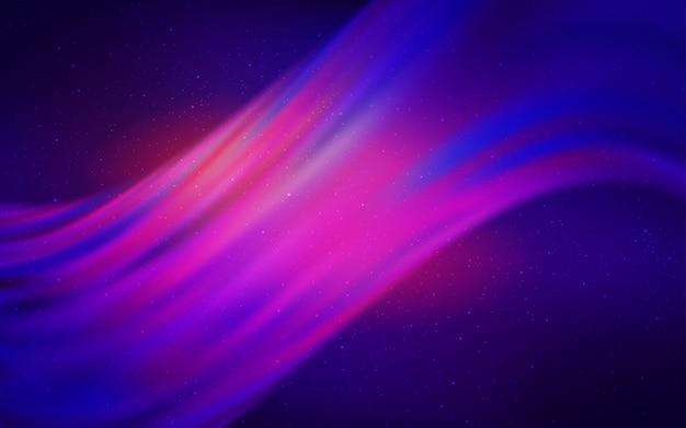 Modèle vectoriel rouge avec des étoiles du ciel nocturne.