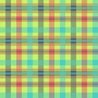 Modèle vectorielle continue multicolore tartan. texture de tissu de flanelle. fond textile à carreaux