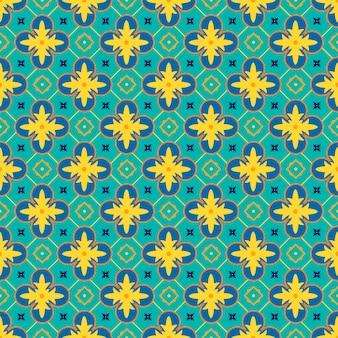 Modèle vectorielle continue avec ornement oriental.