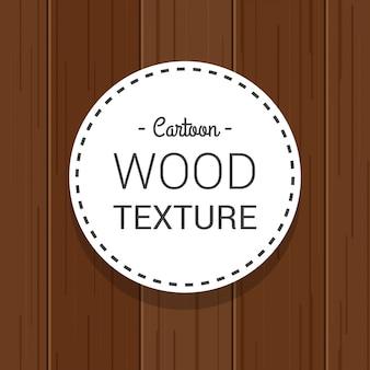Modèle vertical vertical foncé de texture bois dessiné de dessin animé