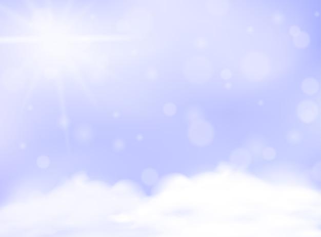 Modèle vierge d'arrière-plan flou de couleur pastel pourpre