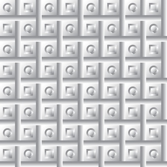 Modèle de volume de géométrie transparente illustration vectorielle