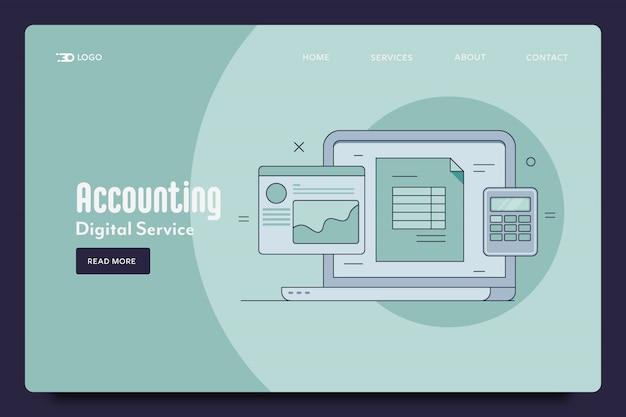 Modèle web de comptabilité