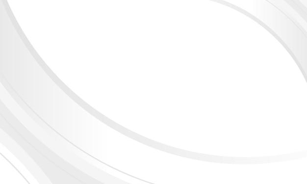 Modèle web de fond de présentation de conception graphique abstraite blanche