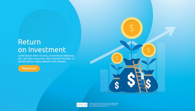Modèle web de retour sur investissement