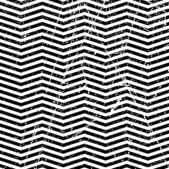Modèle de zigzag abstrait grunge