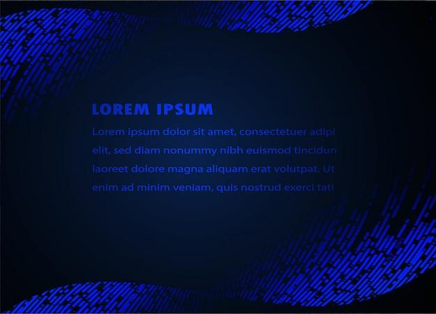 Modèle de zone de texte moderne avec fond