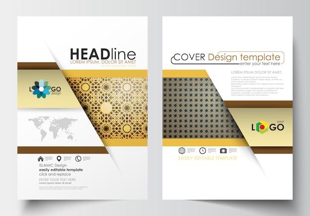 Modèles d'affaires pour la brochure
