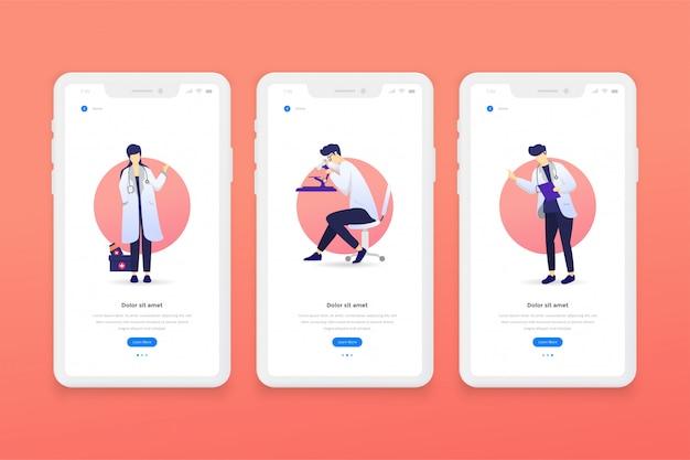 Modèles d'application mobile