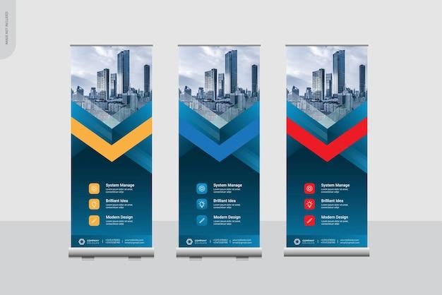 Modèles de bannière de cumul créatif
