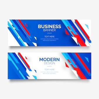 Modèles de bannières modernes