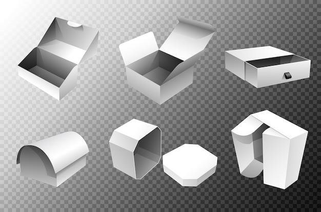 Modèles de boîtes d'emballage