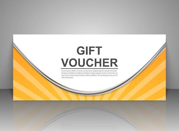 Modèles de bons cadeaux, certificats de réduction.
