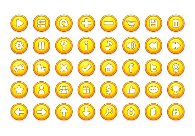 Modèles de bouton de jeu