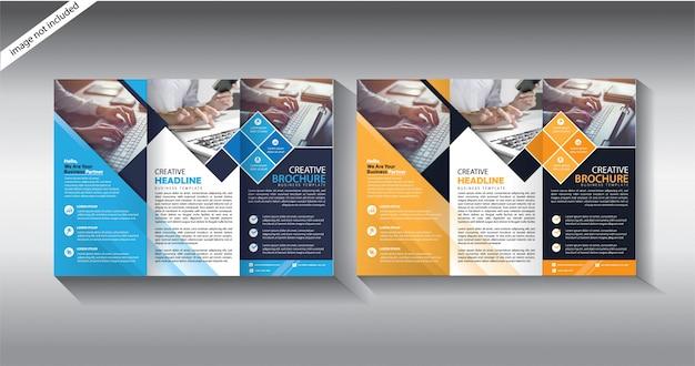 Modèles de brochure à trois volets