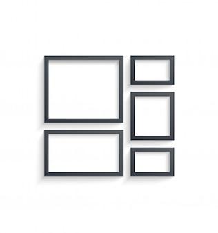 Modèles de cadres photo muraux