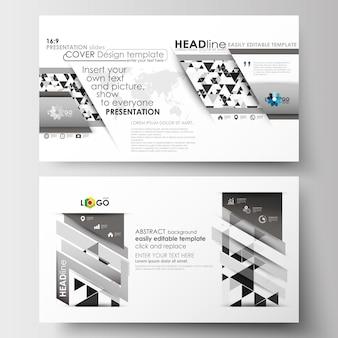 Modèles commerciaux en taille hd pour les diapositives de présentation.