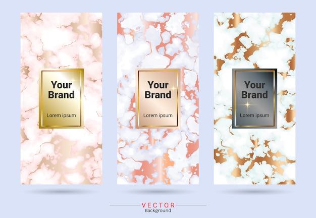 Modèles de conception d'emballage et d'étiquetage