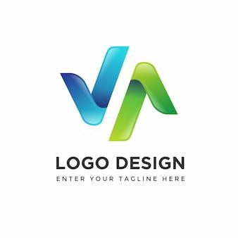 Modèles de conception de logo moderne