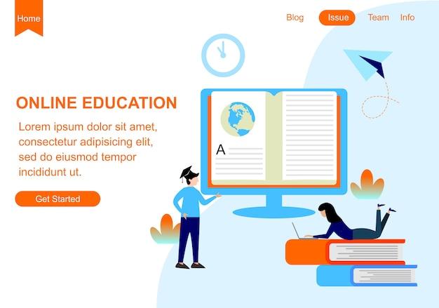 Modèles de conception de pages web pour l'éducation