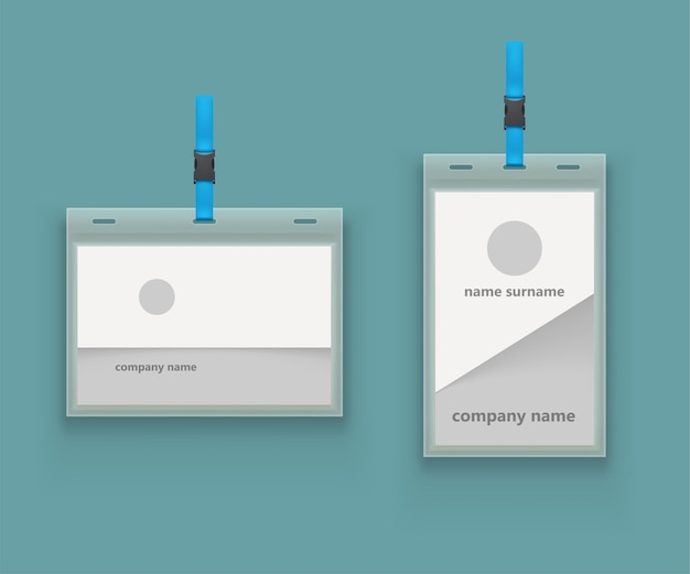 Modèles de couple pour les cartes d'identité