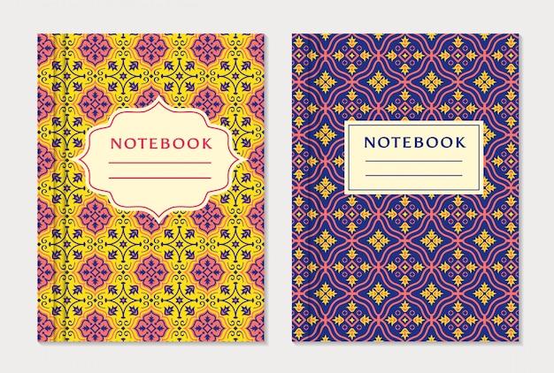 Modèles de couverture de cahier
