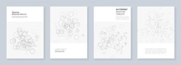 Modèles de couverture minimale avec des hexagones