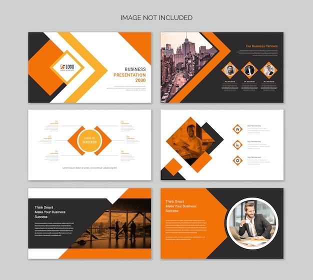 Modèles de diapositives de présentation powerpoint business