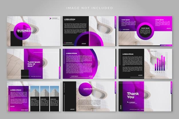 Modèles de diapositives