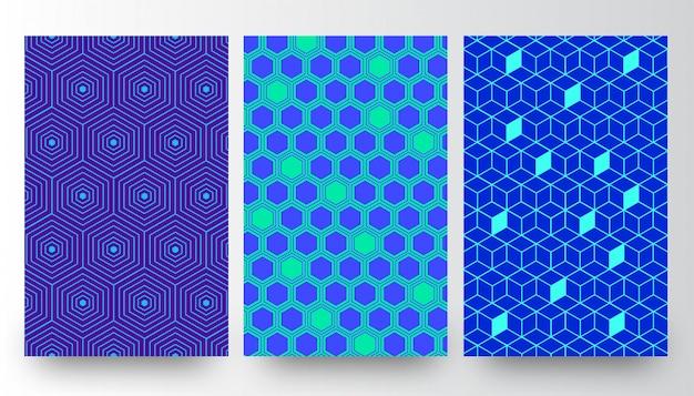 Modèles de fond abstrait motif créatif
