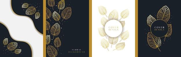 Modèles de fond floral abstrait élégant, adaptés à la décoration murale, au papier peint, à la couverture, à l'invitation, à la bannière, à la brochure, à l'affiche ou à la carte