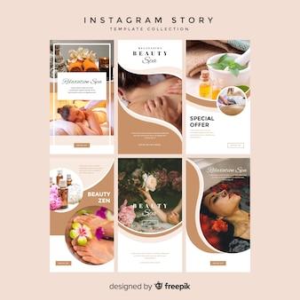 Modèles d'histoires instagram