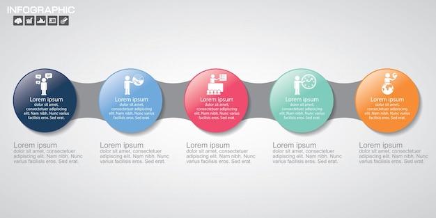 Modèles d'infographie pour les entreprises